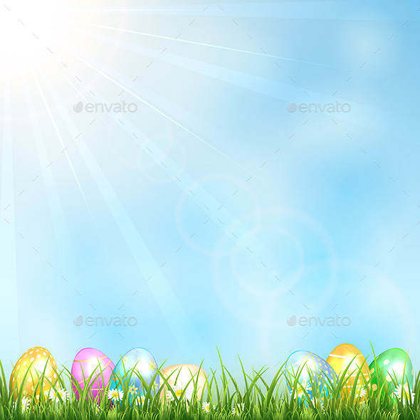 GraphicRiver Easter Background 10653215