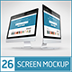 26 Responsive Screen Mockup - GraphicRiver Item for Sale