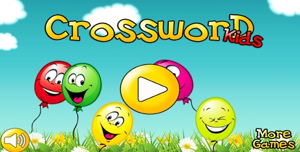 CodeCanyon Crossword for kids Android game & AdMob CAPX 10653564