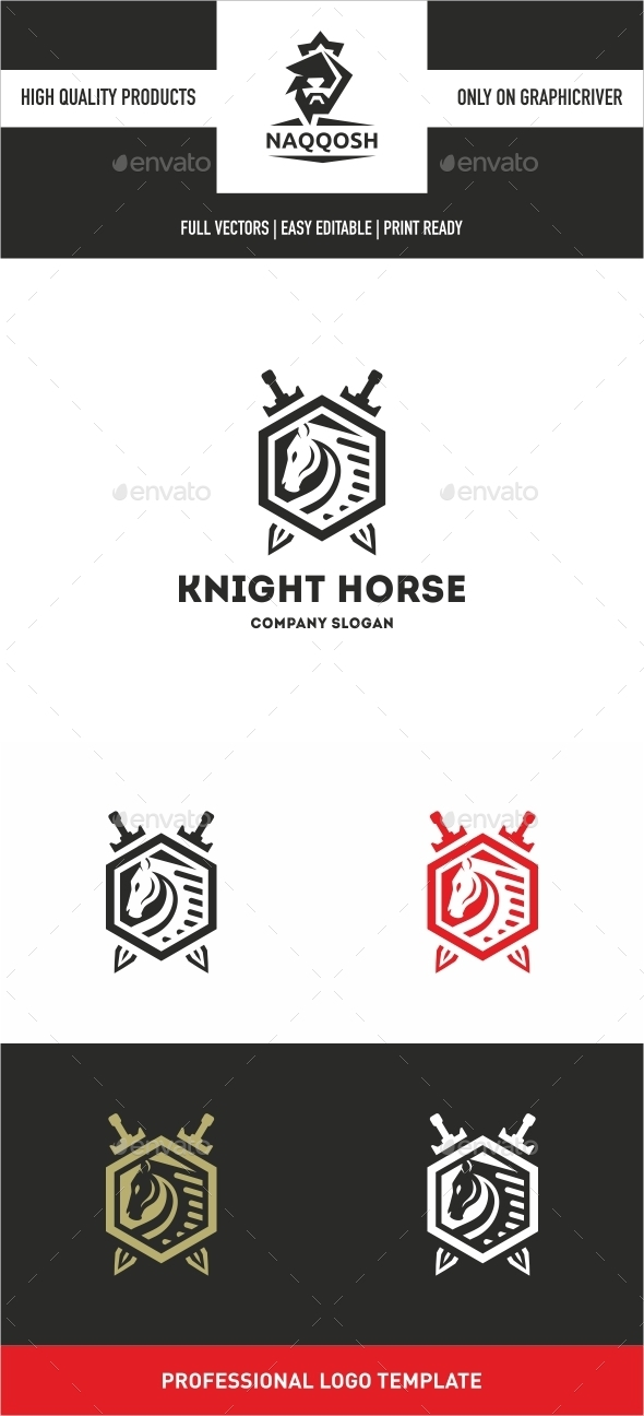 GraphicRiver Knight horse 10653592