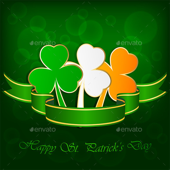 GraphicRiver Clover Background 10653639