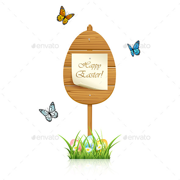 GraphicRiver Easter Sign 10653885