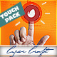 Touch Logo Pack - Flat Interactive Media Reveals - VideoHive Item for Sale