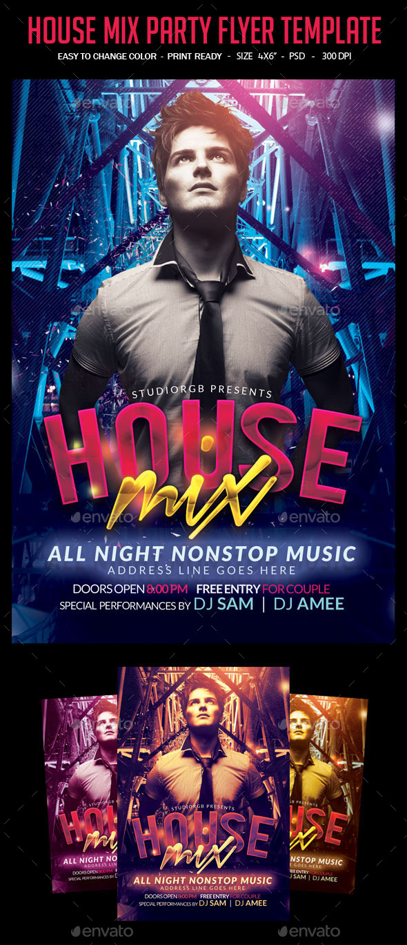 GraphicRiver House Mix Flyer Template 10654484