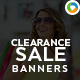 Clearance Sale banners - GraphicRiver Item for Sale