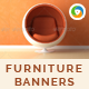 Furniture Store Banners - GraphicRiver Item for Sale