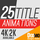 25 Title Animations - VideoHive Item for Sale