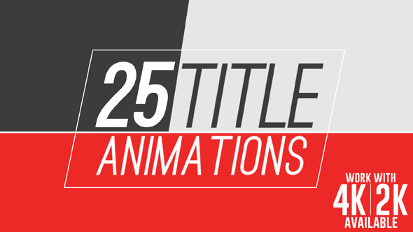 22 Title Animations 10536261 - Free Download