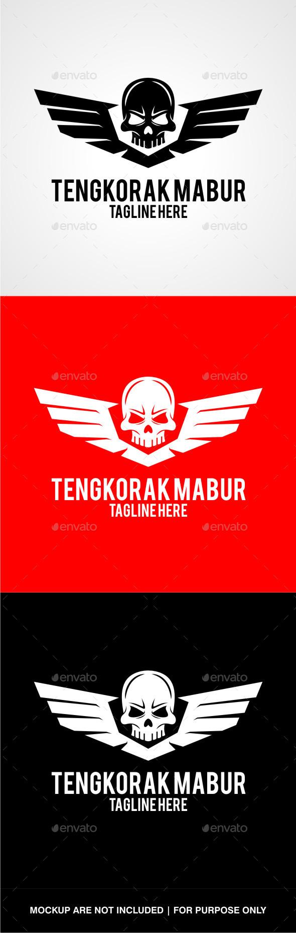 GraphicRiver Tengkorak Mabur V2 10654643
