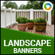 Landscaping Banners - GraphicRiver Item for Sale