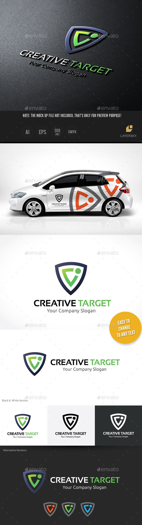 GraphicRiver Creative Target 10654758