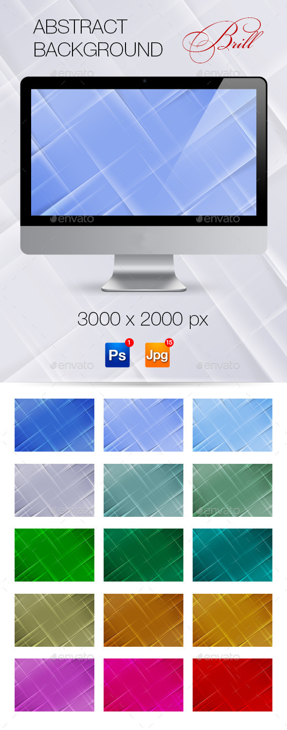 GraphicRiver Abstract Background Brill 10645198