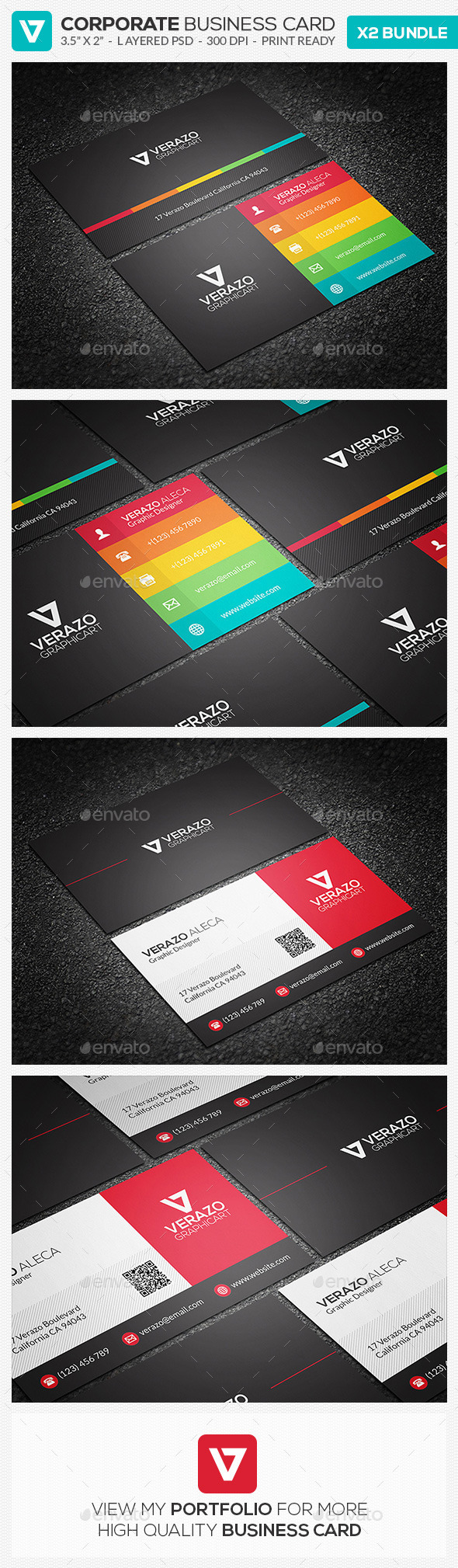 GraphicRiver Business Card Bundle 16 10654858