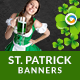 St.Patrick's Day Party Banners - GraphicRiver Item for Sale