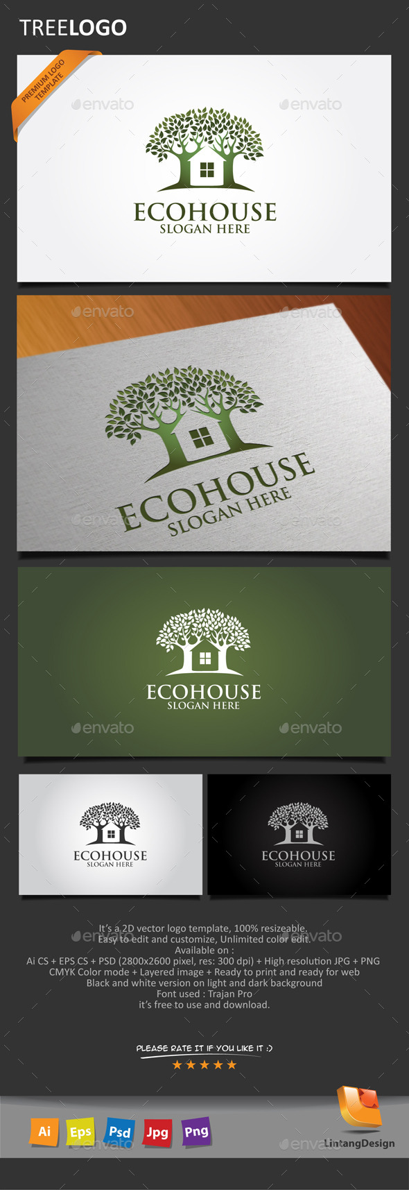 GraphicRiver Tree Logo-007 10654961