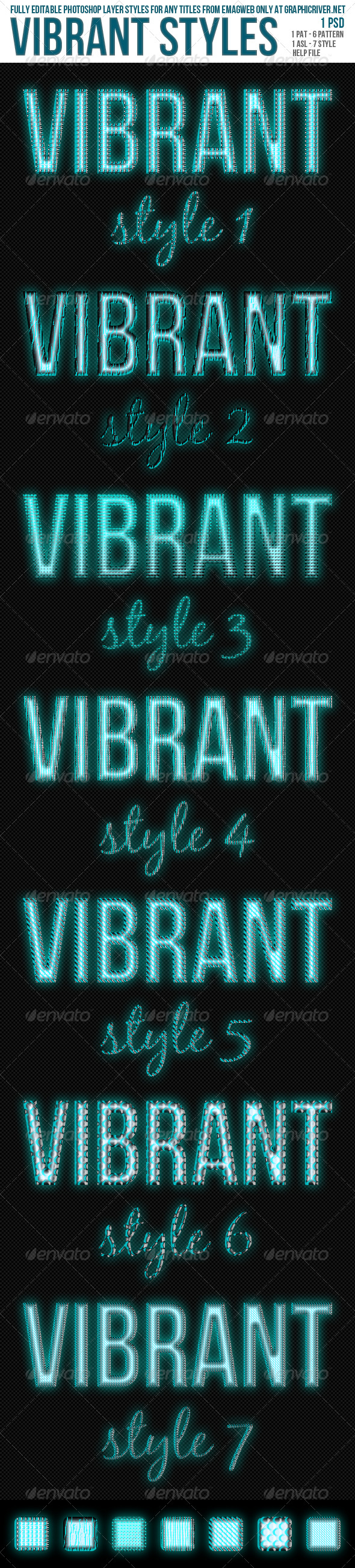 Vibrant Styles - Text Effects Styles