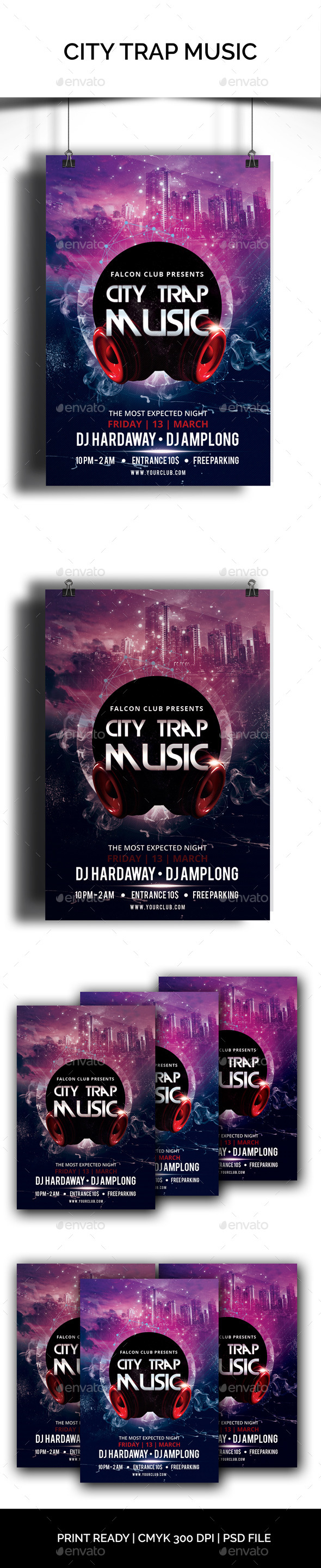 GraphicRiver City Trap Music 10655326