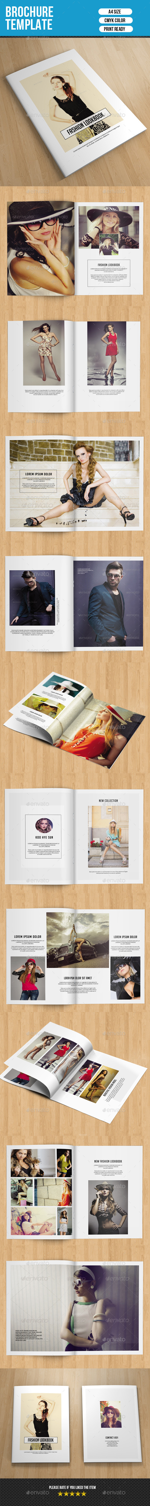 GraphicRiver Fashion Lookbook-V216 10655434