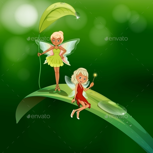 GraphicRiver Fairies 10655441