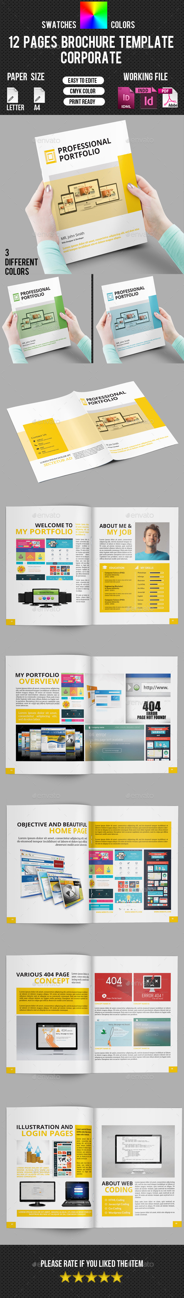 GraphicRiver Portfolio Brochure Template-V217 10655582