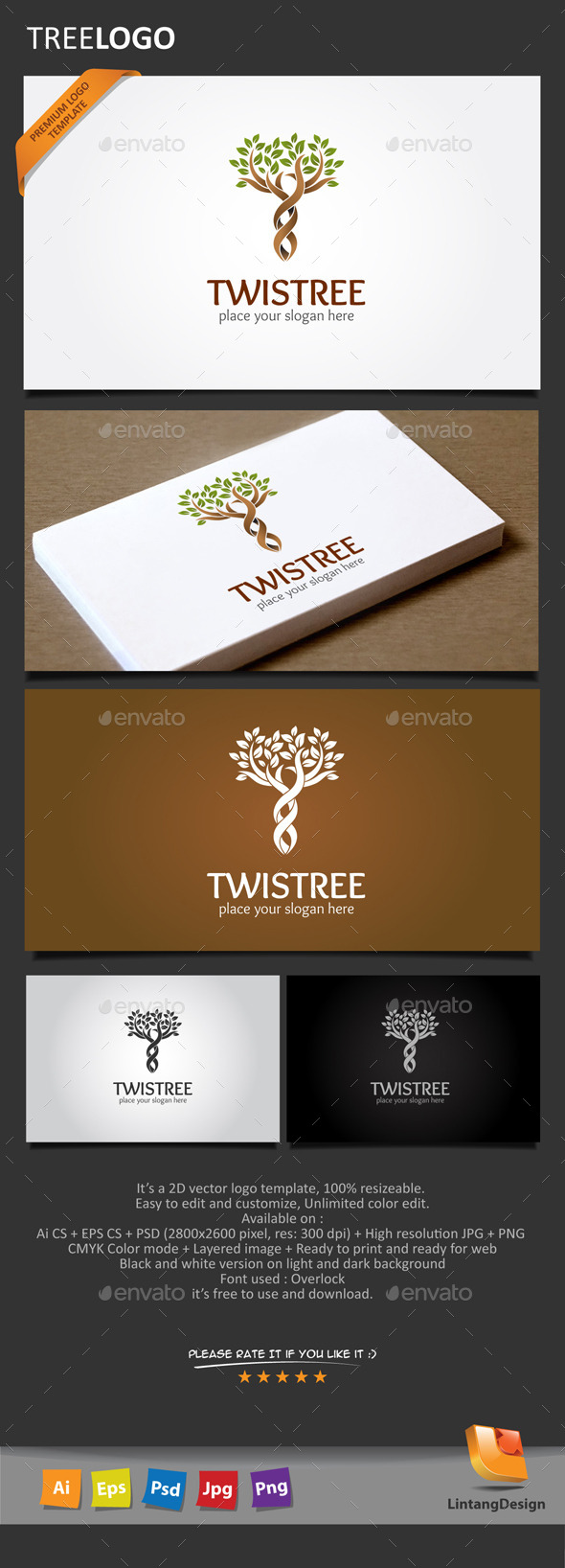GraphicRiver Tree Logo-008 10655592