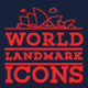 World Landmarks Premium Icons