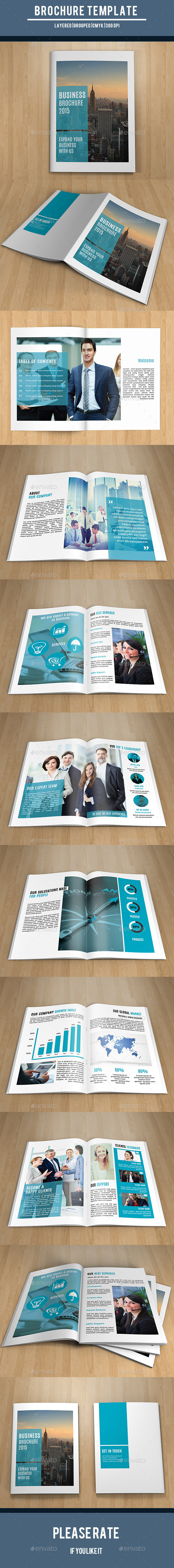 GraphicRiver Corporate Brochure Template-V218 10655599