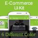 E-Commerce Ui Kit  - GraphicRiver Item for Sale