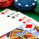 Poker chips & full house cards - PhotoDune Item for Sale