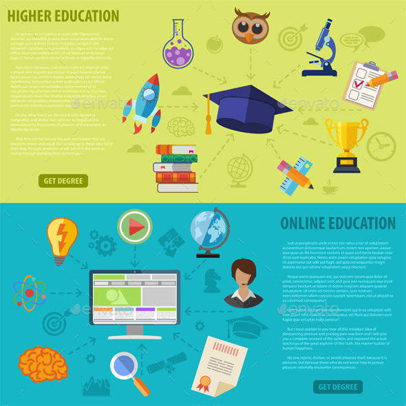 GraphicRiver Education Banners 10655839