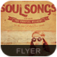 Soul Songs Flyer/Poster - GraphicRiver Item for Sale