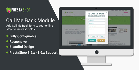 CodeCanyon PrestaShop Call Me Back 10657202