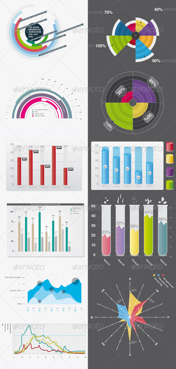GraphicRiver Infographic elements 01 133402