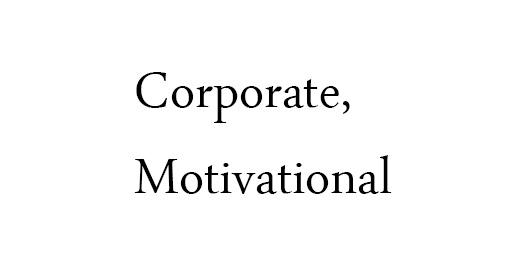 Corporate,Motivational