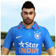 Low Poly Indian Cricket Player Vrat 3D Model