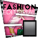 Tablet Fashion Editorial - GraphicRiver Item for Sale