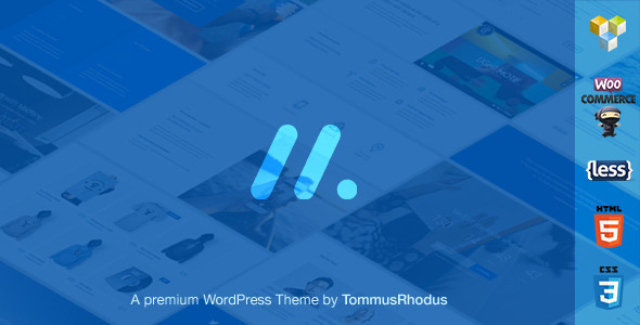 ThemeForest Machine Responsive Multi-Purpose WordPress Theme 10658425