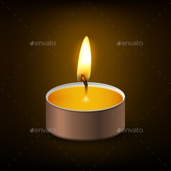GraphicRiver Tea Light 10658634