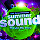 Summer Sound Party Flyer - GraphicRiver Item for Sale