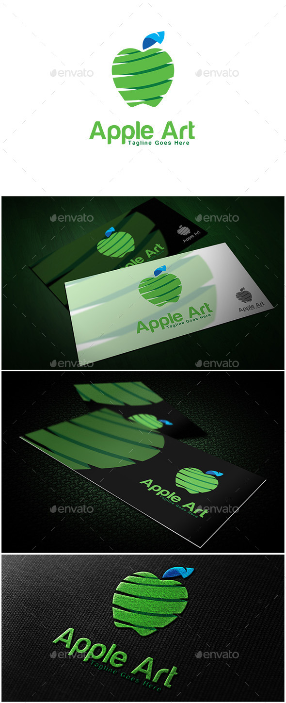 GraphicRiver Apple Art Logo 10660049