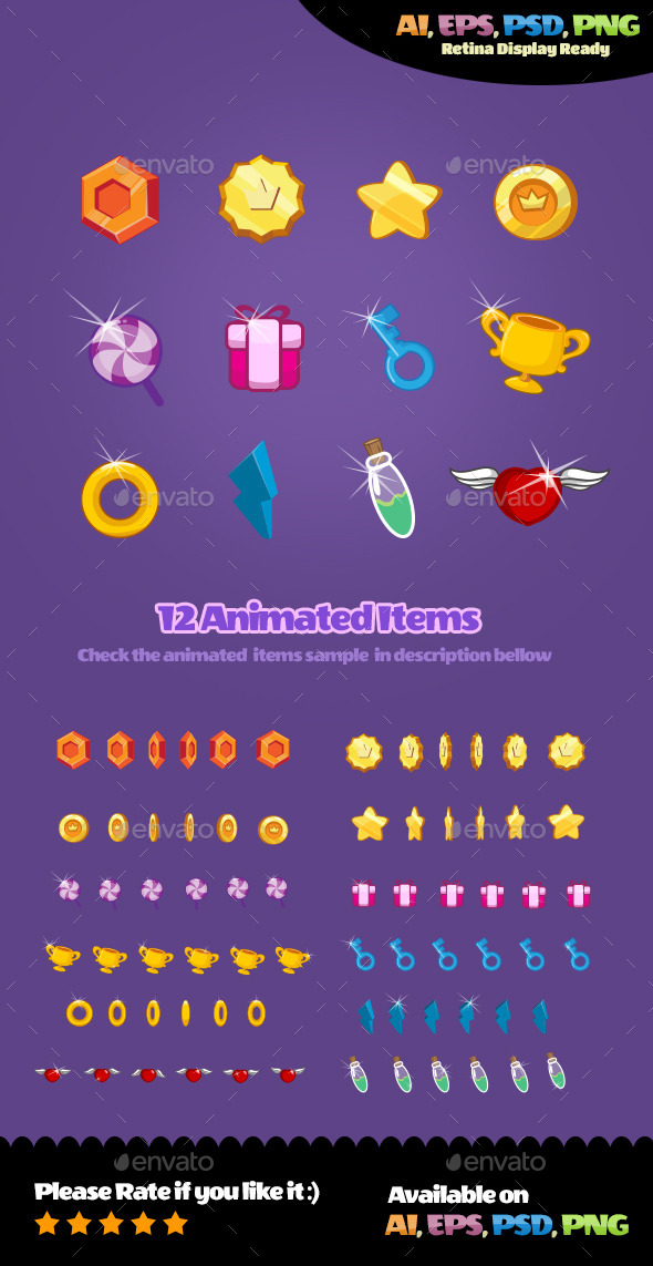 GraphicRiver Animated Items 10660623
