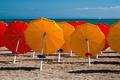 Umbrellas on Sandy Beach - PhotoDune Item for Sale