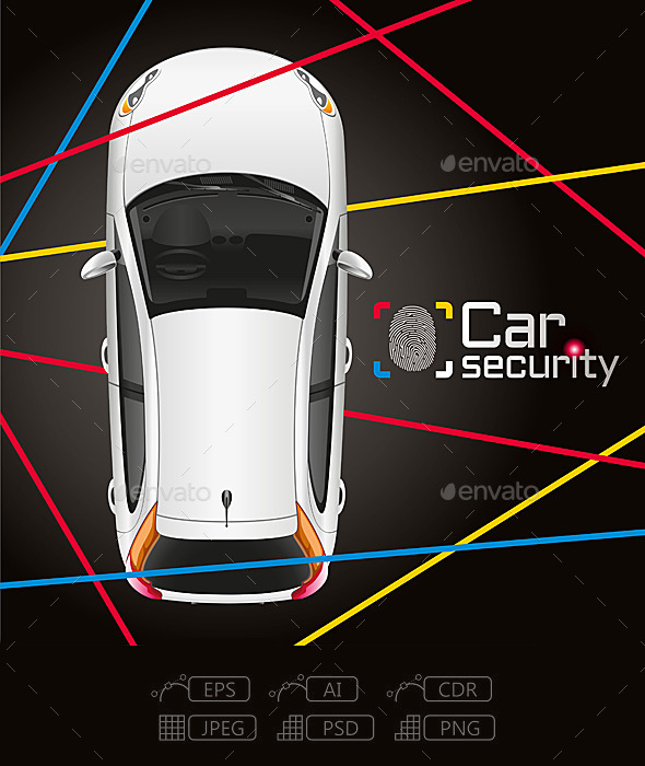 GraphicRiver Car Laser Security 10660747