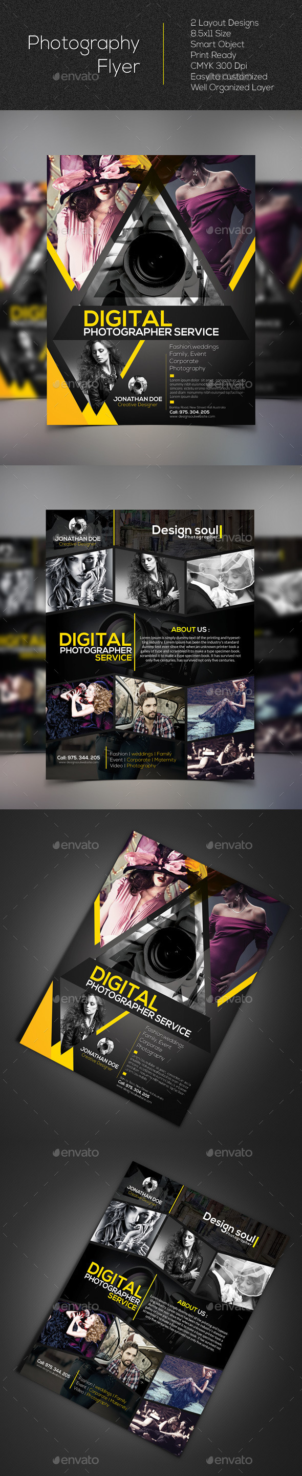 GraphicRiver Photography Flyer 10593503