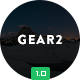 Gear2 + 10 Notification Templates & Themebuilder Access - ThemeForest Item for Sale