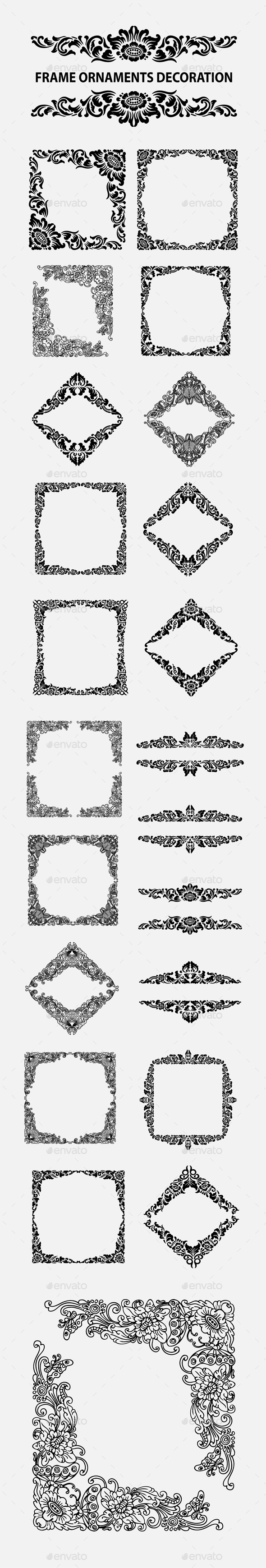 GraphicRiver Frame Ornaments Decoration 10661391
