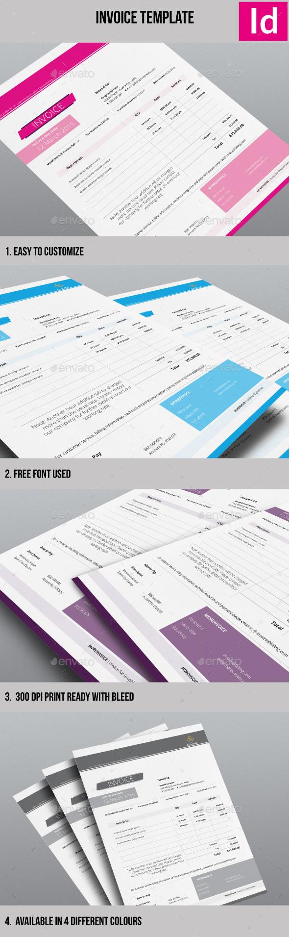 GraphicRiver Minimalist Invoice Template 10661408