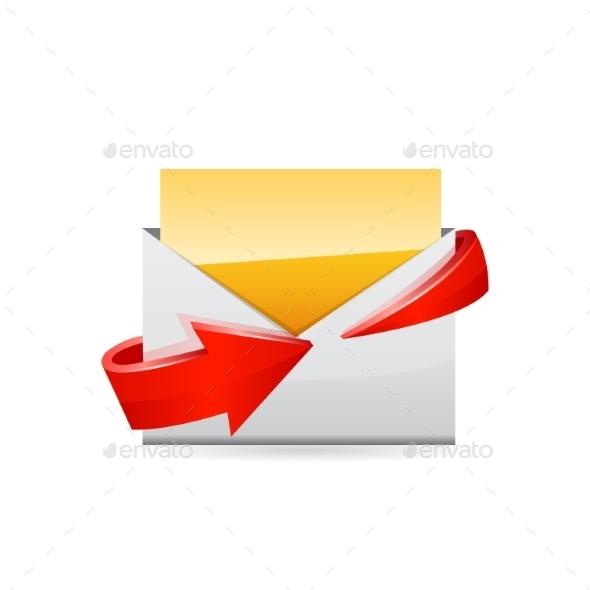 GraphicRiver E-Mail Icon 10661418