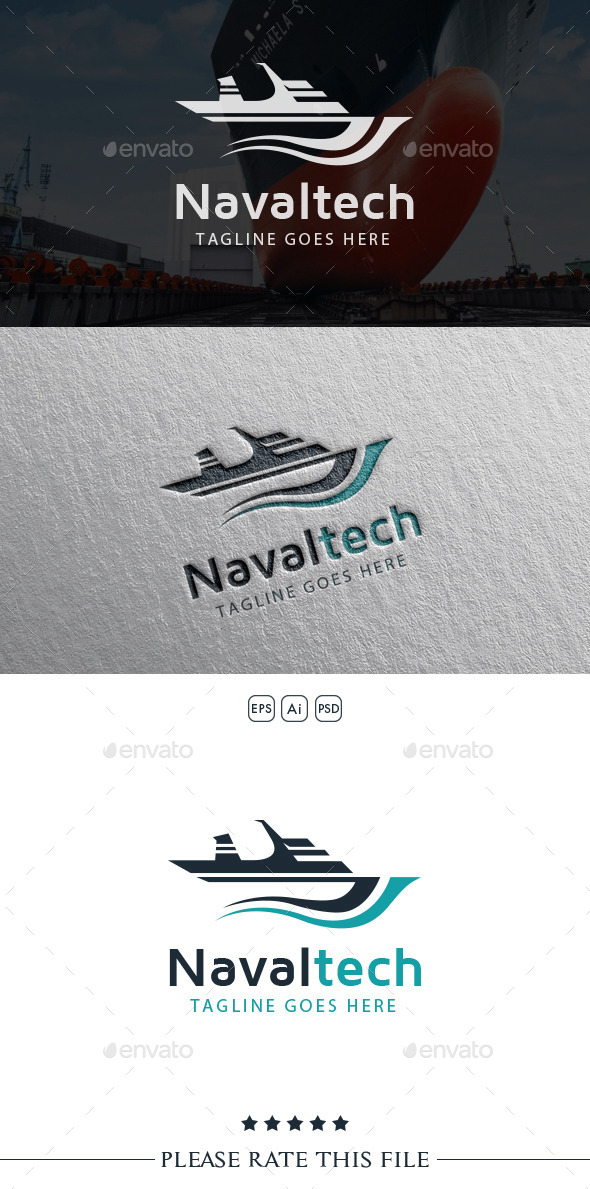 GraphicRiver Naval Ship Logo 10661466