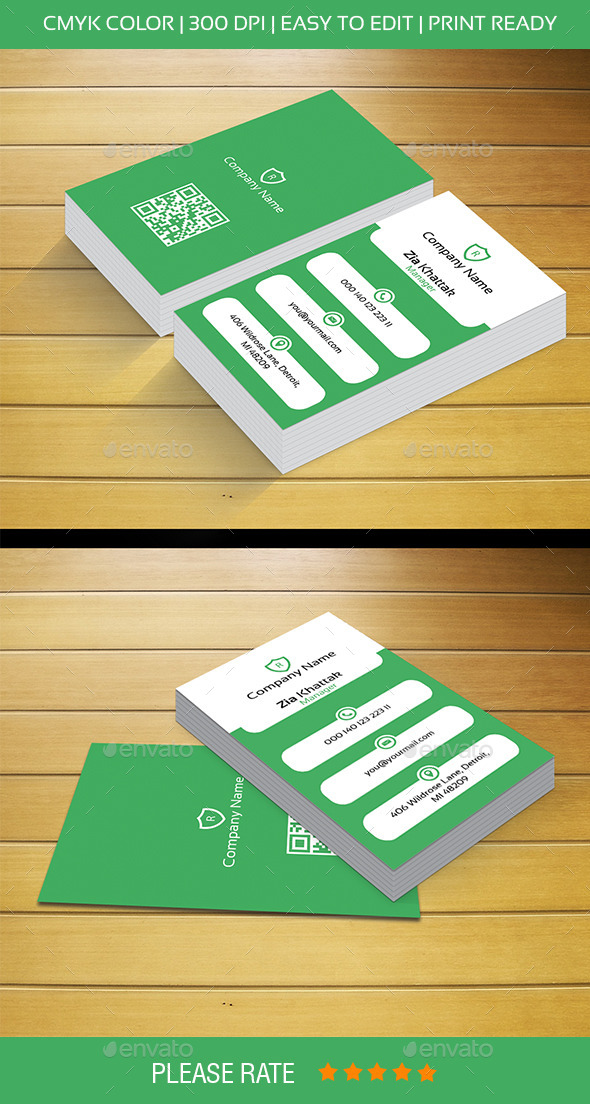 GraphicRiver Business Card 10661507